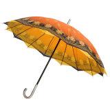 Зонтик печатание 60cm* 8k автомобиля открытый цветастый прямой (JY-071)