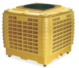 Установленный на крыше водяного охладителя нагнетаемого воздуха при испарении 40000м3/ч (WH-40000) для зеленого дома