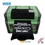 В утвержденном CE3 небольшого размера футболка печатной машины для хлопчатобумажной ткани