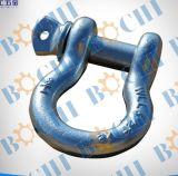 Type galvanisé plongé chaud jumelle de Pin D de vis modifié par baisse