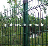 熱い販売PVC上塗を施してある金網の塀(工場)