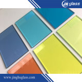 13.52mm Tempered Blue Laminated Glass