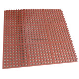 Vente en gros Interlocking Grainage Hotel Kitchens Rubber Floor Mat