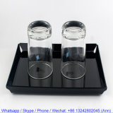 Non Slip Food Serving acrylic Tray for Hotel