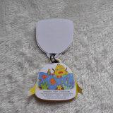 子供の通学かばんのための特別な形のかわいい品質表示票