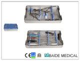 Placa cervical anterior conjunto de instrumentos