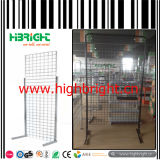 Wire Mesh Display Shelf Rack Wire Mesh Panel Stand