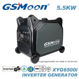 генератор инвертора газолина 5500W с ключевыми стартером и дистанционным управлением