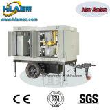 Apparatuur van de VacuümFiltratie van de Olie van de Transformator van Vpm de Elektrische centrale Gebruikte