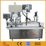 Remplissage linéaire liquide de remplissage de bouteille automatique et machine recouvrante rotatoire