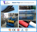 Automatisches Plastikrohr, das Maschine/gewölbte Rohr-Fertigung-Plastikmaschinerie verlegt