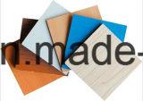 2mm 좋은 품질 E1 접착제 빨간색 박판으로 만들어진 멜라민 MDF