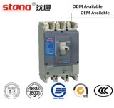 400A 630A 1250A Disyuntor de caja moldeada MCCB con parámetros