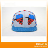合われたカスタムNyの平らな縁の急な回復の帽子