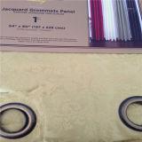 Ventes directes en usine 100% polyester jacquard rideau d'indisponibilité