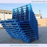 L形の鋼鉄棚のフロートガラスの記憶装置