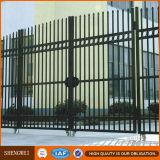 Valla de hierro forjado y diseños de puertas