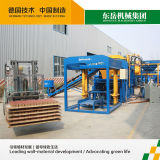Machine de fabrication de brique hydraulique du béton Qt4-15b