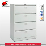 Utilisation du bureau Stockage de fichiers Lateral 4 Drawers Steel Metal Arching Cabinet