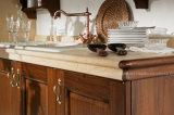[كونتري ستل] مظلمة خشبيّة لون [سليد ووود] مطبخ خزانة