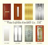 ローズGold Mirror Stainless Steel Home Elevatorが付いている贅沢