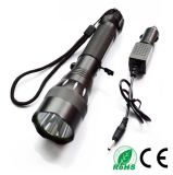 CREATE 18650 Q5 5W IP X7 Waterproof 5 Functions Tactical LED Flashlight