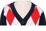 Kind-Strickjacke-Pullover-Strickjacke-Baumwollknit-Pullover-Strickjacke