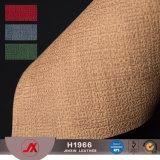 Cuoio poco costoso del cuoio artificiale \ PVC dei tessuti di vendita calda per i sacchetti ed i pattini