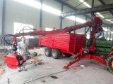 Houten Aanhangwagen tc-8-600 van de Kraan
