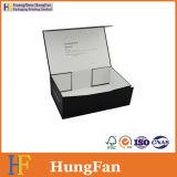 Foldable 접을 수 있는 구두 상자를 포장하는 매트 호화스러운 까만 인쇄된 종이