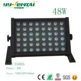 高い発電LEDのフラッドライト防水多彩なLEDの屋外の照明36With48W
