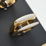 Кольца квадратной эпоксидной смолы эмали кольца установленной белой черной просто