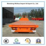Lowbed popular semi Itrailer con 4 árboles del surtidor de China