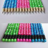 Bois de papeterie Hotsale Crayon avec gomme