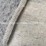 Terry francês C/P 57/43, 315 G/M, Naps tela de confeção de malhas da urze para a camisola