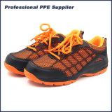 Ботинок техники безопасности на производстве спорта Kpu верхний с стальным пальцем ноги