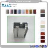 La construcción de Metarial o extrusión de perfiles de aluminio extruido / Perfil de aluminio para muro cortina de la puerta y ventana