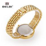 Belbi 시계 형식 작은 다이얼 방수 합금 석영 시계를 가진 Ultra-Thin 시계 다이아몬드 메시