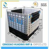Съемные пластиковые контейнеры для транспортировки поддонов для хранения складные ящики