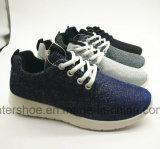 Новая впрыска женщин конструкции резвится ботинки с верхушкой яркия блеска (ET-JRX160109W)