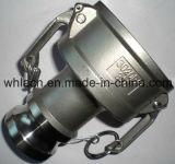 適用範囲が広いホースカム溝の付属品の締める物のカップリング(C)タイプ