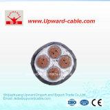 4 cavi isolati PVC di energia elettrica di memoria XLPE
