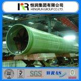 ISO9001, pipe et garnitures de la qualité GRP de certificat de Wras