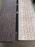 PU aislados de metal en relieve el panel de pared decorativos