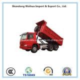 6X4 Vrachtwagen de van uitstekende kwaliteit van de Stortplaats HOWO, 371HP Sinotruck,