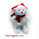 Мягкие Рождество белого медведя