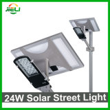 Indicatore luminoso di via solare esterno di buona qualità 24W LED