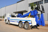 Slepende Vrachtwagen van het Wrak van de Vrachtwagen van de Redding van de Weg HOWO 8*4 de Op zwaar werk berekende