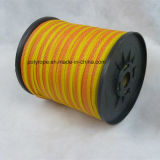 オレンジ及び黄色の電気テープ