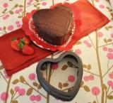 Bakeware harte anodisierte Inner-Kuchen-Aluminiumform mit entfernbarer Unterseite (MY2726H-MY2734H)